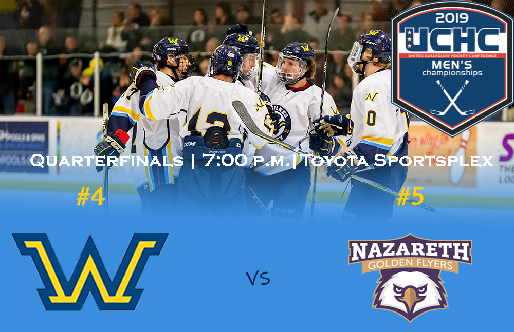 No 4 Wilkes Men S Ice Hockey Set To Host Uchc Opening Round Game